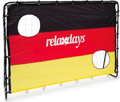 relaxdays  Fußballtor mit Torwand Deutschland