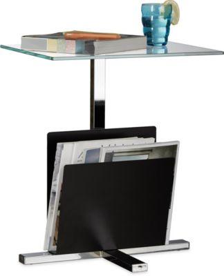 beistelltisch glas mit rollen preisvergleich die besten angebote online kaufen. Black Bedroom Furniture Sets. Home Design Ideas
