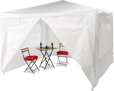 relaxdays Pavillon 3x3 m mit 4 Seitenteilen | Garten > Pavillons | relaxdays
