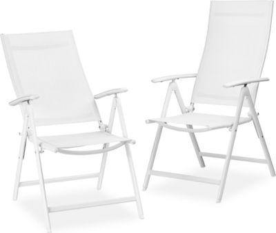 Gartenstühle Alu Klappbar 2er Set