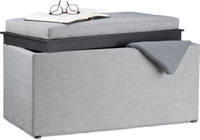 sitztruhe preisvergleich die besten angebote online kaufen. Black Bedroom Furniture Sets. Home Design Ideas