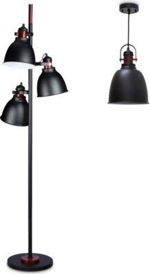 stehlampe schwarz preisvergleich die besten angebote online kaufen. Black Bedroom Furniture Sets. Home Design Ideas