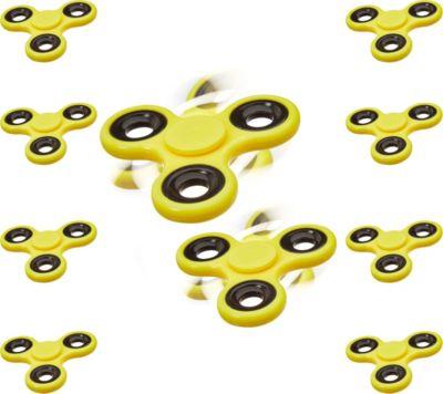 relaxdays 10x Fidget Spinner mit Hochleistungsk...