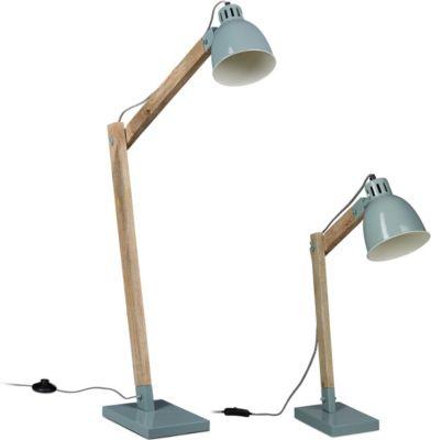 relaxdays-2er-lampen-set-grau-stehlampe-schreibtischlampe-nachttischlampe-standleuchte