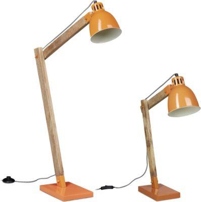 relaxdays-2er-lampen-set-orange-schreibtischlampe-skandinavisch-stehlampe-mangoholz-lampe