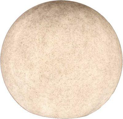 Kugelleuchte, Gartenkugel, GlowOrb stone, 45cm Ø, 10478 | Lampen > Tischleuchten > Kugelleuchten | Stone | Stein | KIOM