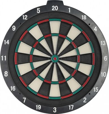 Best Sporting Safety Dartboard mit Plastikspinn...
