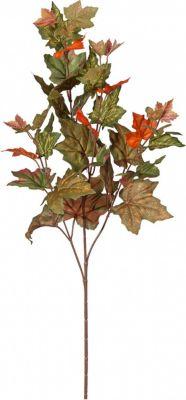 Ahornzweig Herbstlaub Kunstpflanze