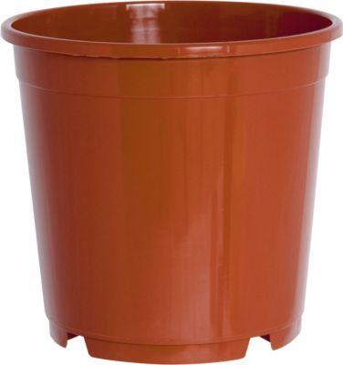 Pflanzkübel CONTAINERTOPF rund aus... 21 cm | Dekoration > Dekopflanzen > Pflanzenkübel | Terracotta | Kunststoff | Geli