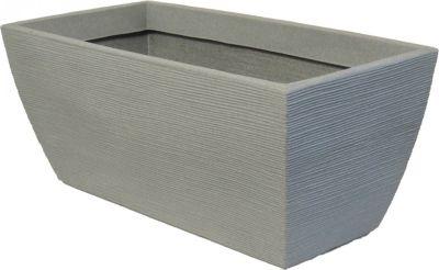 Pflanzkübel Rillentopf Pflanztrog aus... betonfarbe | Dekoration > Dekopflanzen | Kunststoff | Geli