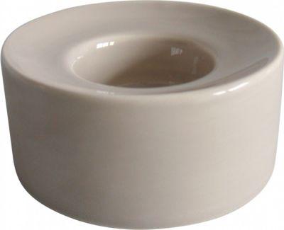 Porzellan Teelicht Umag rund aus Porzellan | Dekoration > Kerzen und Kerzenständer > Teelichter | Grau | Porzellan | Fuchs seit 1895