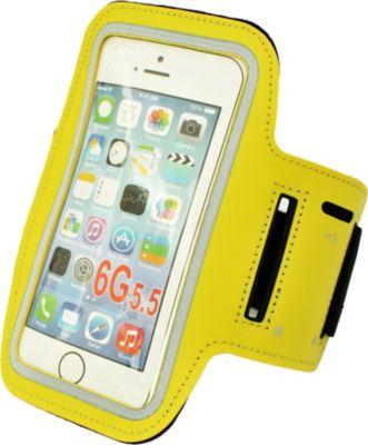 HTI-Line Armtasche für Handy Gelb