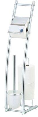 HTI-Line Toilettenpapierhalter mit WC-Bürste Corse