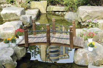 HTI-Line Gartenbrücke Sommerset