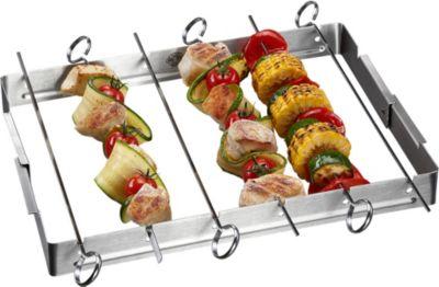 GEFU  Grillspieße mit Halter BBQ Style