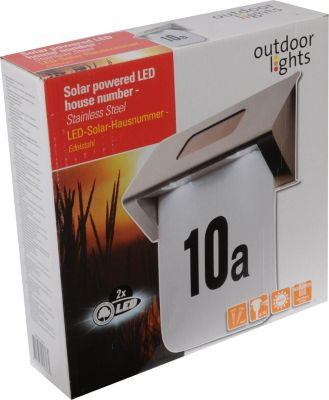 Outdoor Lights LED Solar Hausnummer