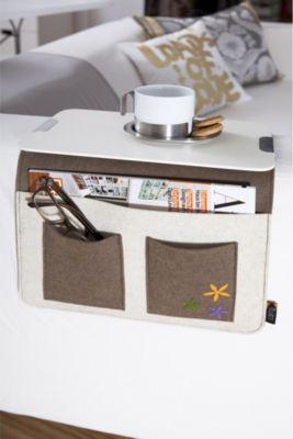 at home Sofa-Butler Carry, aus Wollfilz | Wohnzimmer > Tische > Weitere Tische | Sonstiges