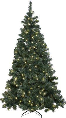 *All for X-Mas*: LED-Baum aus Kunststoff und Metall, klein