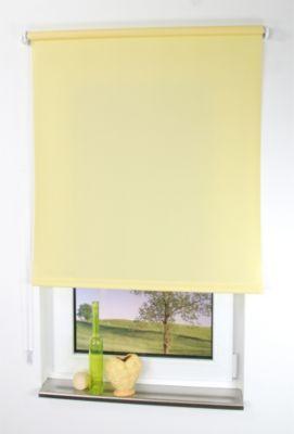 LIEDECO Seitenzugrollo Uni-Tageslicht, gelb