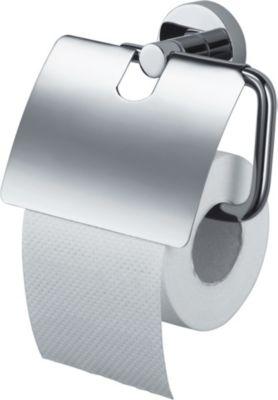 LIEDECO Papierrollenhalter Kosmos, mit Deckel | Bad > Bad-Accessoires > Toilettenpapierhalter | Liedeco