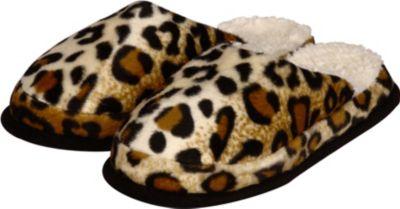 Linke Licardo Wellness-Pantoffel Gepardfell, 1 Paar