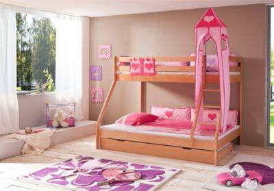 Etagenbett Pink : Vorhangstoff hochbett etagenbett kinderbett motiv real