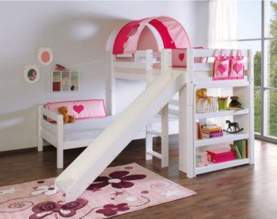 Relita Etagenbett Beni Mit Rutsche : Pink etagenbetten online kaufen möbel suchmaschine ladendirekt