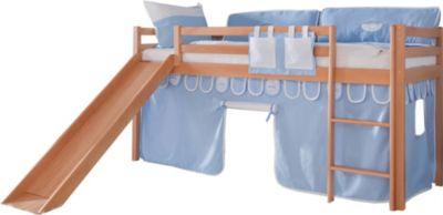 relita-hochbett-toby-buche-massiv-mit-rutsche-stoffset-blau-junge