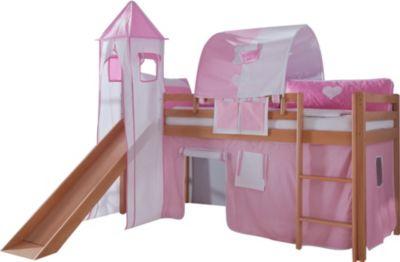 relita-hochbett-toby-buche-massiv-mit-rutsche-turm-stoff-rosa-wei