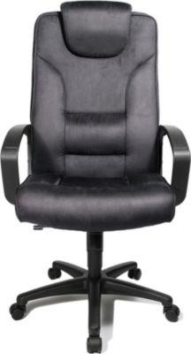 topstar Chefsessel Comfort Point 50, Microfaser, anthrazit | Büro > Bürostühle und Sessel  > Chefsessel | Microfaser | Topstar
