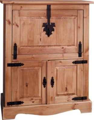 Henke Möbel Barschrank Mikkeli | Küche und Esszimmer > Bar-Möbel > Barschränke | Kiefer - Massiv | Henke Möbel