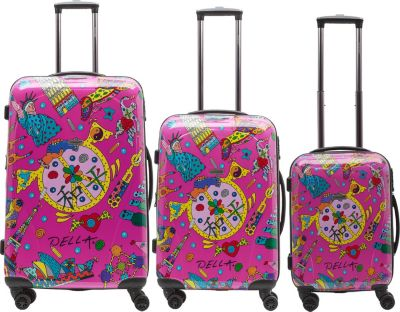 Packenger Kofferset Della One World Designer Ko...