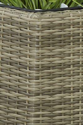 polyrattan pflanzk bel preisvergleich die besten. Black Bedroom Furniture Sets. Home Design Ideas