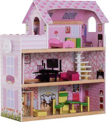 homcom-kinder-puppenhaus-puppenstube-barbiehaus-dollhouse-3-etagen-mit-mobeln-l60-x-b30-x-h71-5-cm