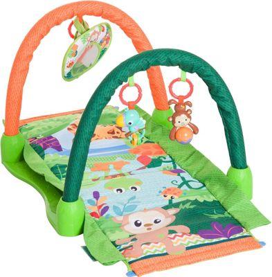 homcom-kinderteppich-tiere-krabbeldecke-2-spielbogen-grun-orange-spielteppich-kuschelteppich-spieldecke-babydecke