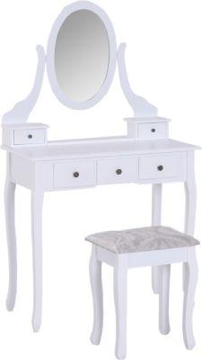 homcom-schminktisch-frisierkommode-mit-spiegel-und-hocker-schminktisch-kosmetiktisch-frisiertisch-spiegel