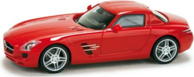 Welly Mercedes-Benz SLS AMG rot 1:24