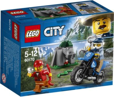 LEGO® City 60170 Offroad-Verfolgungsjagd, 37 Teile
