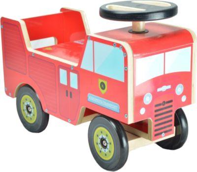 kiddimoto® Rutsch Fahrzeug Feuerwehr Truck