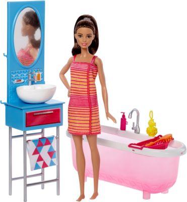 Mattel DVX53 Barbie Deluxe-Set Möbel Badezimmer...