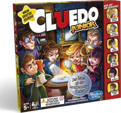 Hasbro C1293100 Cluedo Junior