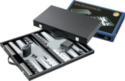 Philos Backgammon Kunstleder 47 x 29 cm