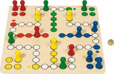 goki Brettspiel Ludo 50 x 50 cm