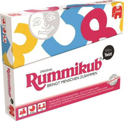 Jumbo 03978 Original Rummikub with a Twist