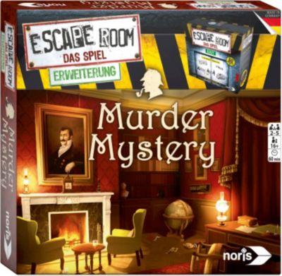 Noris Spiele Escape Room Murder Mystery Erweite...