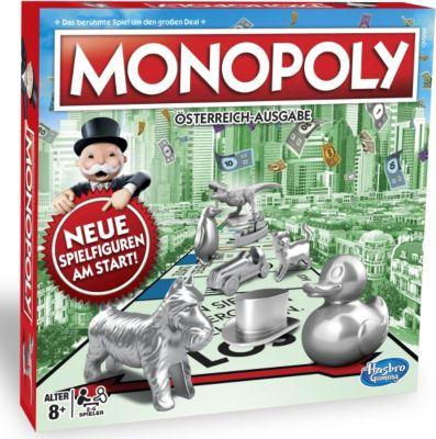 Hasbro Monopoly Classic österreichische Version