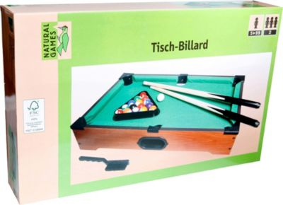 Natural Games Tischbillard, 53 x 32,5 x 10 cm