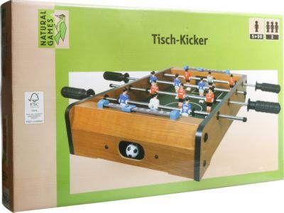 Natural Games Tischkicker 51 x 31,5 x 9 cm
