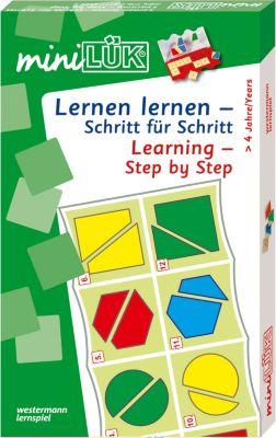 Mini-Lük Set Lernen lernen Schritt für Schritt