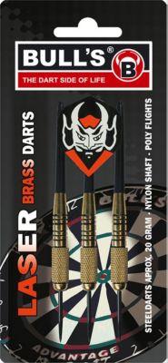 Bull&acutes 3 Steeldart Laser Brass Darts 20 g